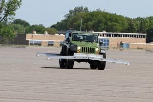 BDS Suspension FMVSS No.126 testing