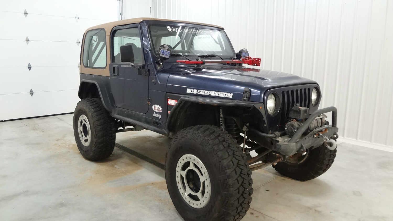 Sold  1997 Jeep Tj Wrangler